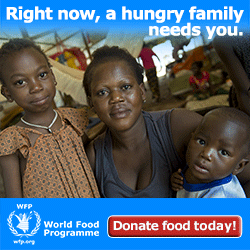A Hungry Family Needs You