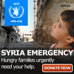Syra Emergency - Donate Now Banner