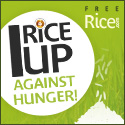 I rice up against hunger!  Click to go to freerice.com!